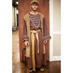 Biblical – Men's Full Outfit,  Brown and Tan