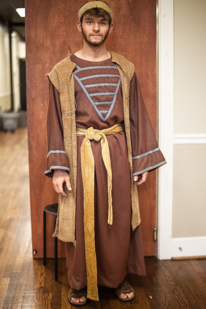Biblical – Men's Full Outfit,  Brown and Tan