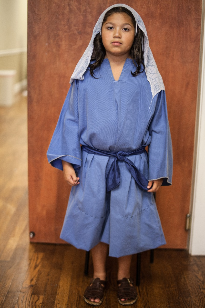 Biblical – Child's Full Outfit,  Blue