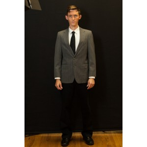 1940s – Men's Full Outfit,  Grey and Black Suit 2