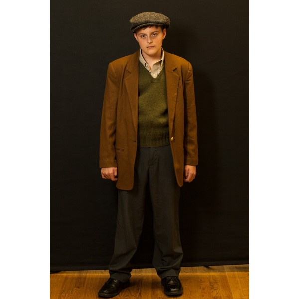 1940s – Men's Full Outfit,  Tan and Green