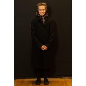 1940s – Women's Full Outfit,  Black Dress Coat 2