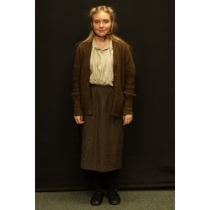 1940s – Women's Full Outfit,  Brown 2
