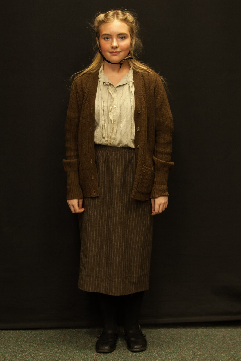 1940s – Women's Full Outfit,  Brown