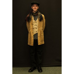 1940s – Men's Full Outfit,  Tan and Grey