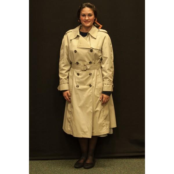 1940s – Women's Full Outfit,  Tan Coat 2
