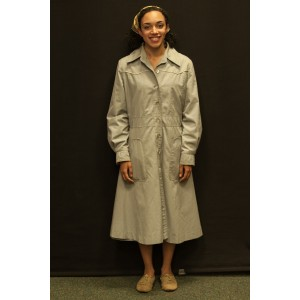 1940s – Women's Full Outfit,  Light Grey