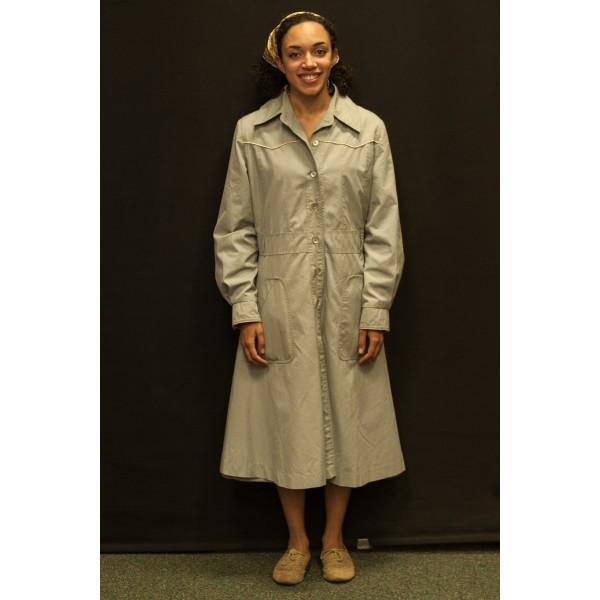 1940s – Women's Full Outfit,  Light Grey
