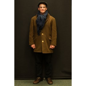 1940s – Men's Full Outfit,  Brown and Navy 2