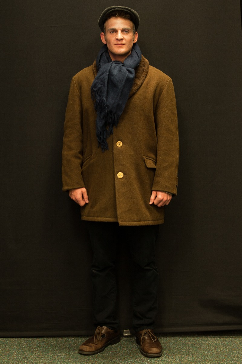 1940s – Men's Full Outfit,  Brown and Navy