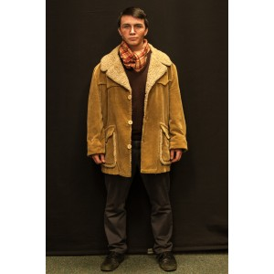1940s – Men's Full Outfit,  Tan Sheepskin