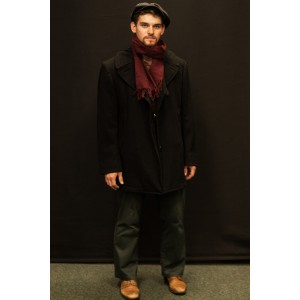 1940s – Men's Full Outfit,  Black and Brown