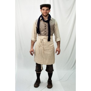 Dickens' Poor – Men Full Outfit,  Butcher Boy 1