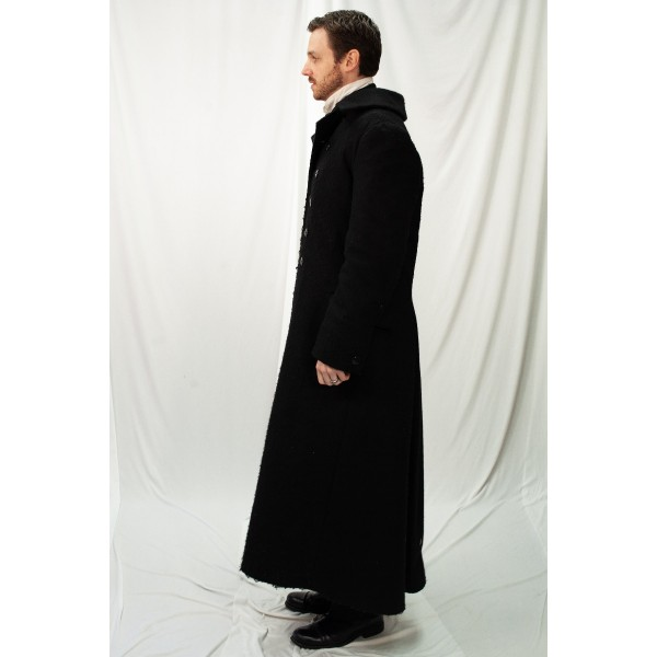 Dickens – Men's Full Outfit,  Scrooge with Coat 2