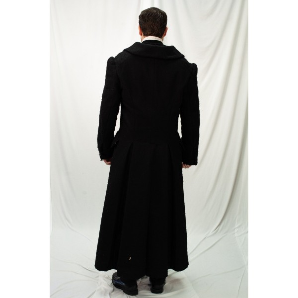 Dickens – Men's Full Outfit,  Scrooge with Coat 3