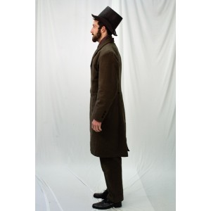 Dickens/ Civil War – Men's Full Outfit,  Caroler 1