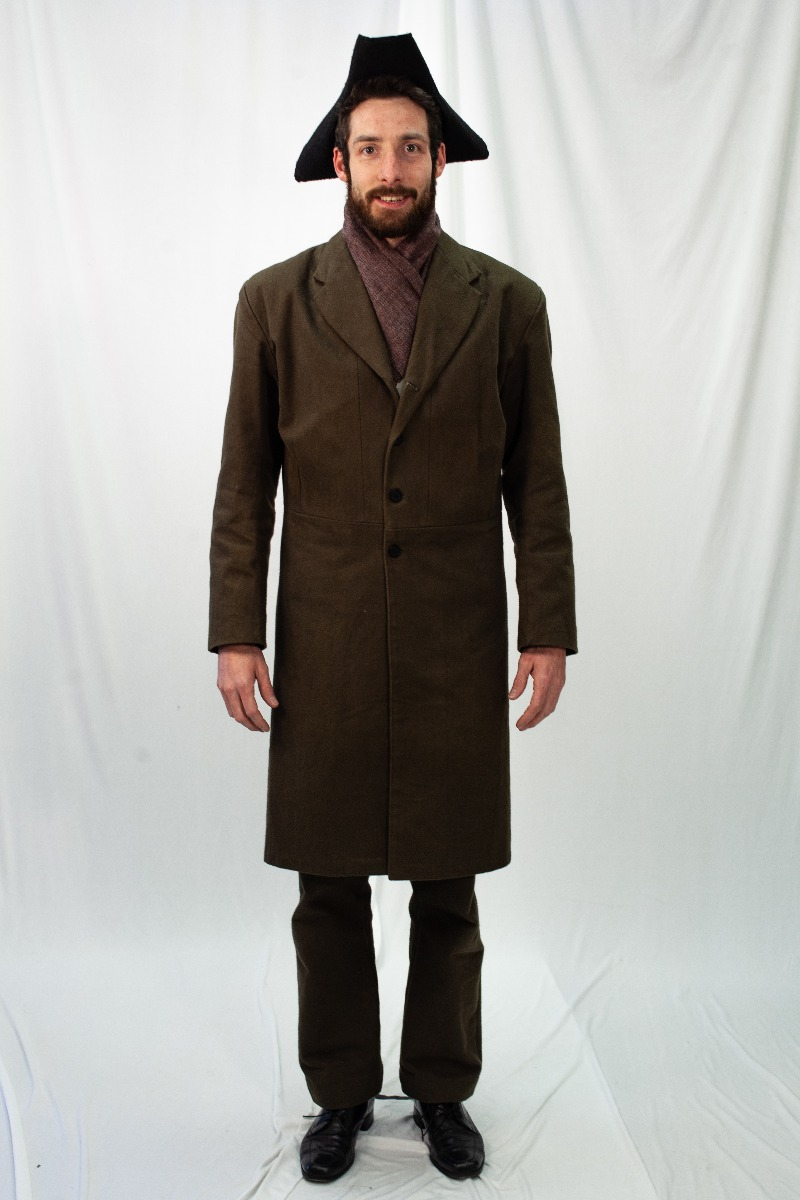 Colonial – Men's Full Outfit,  Brown