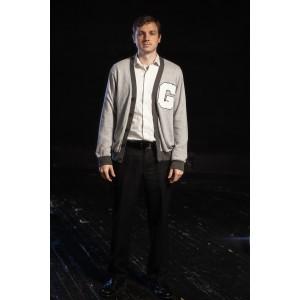 Bustle/Turn of the Century – Men's Full Outfit,  Lettermen Jacket 2