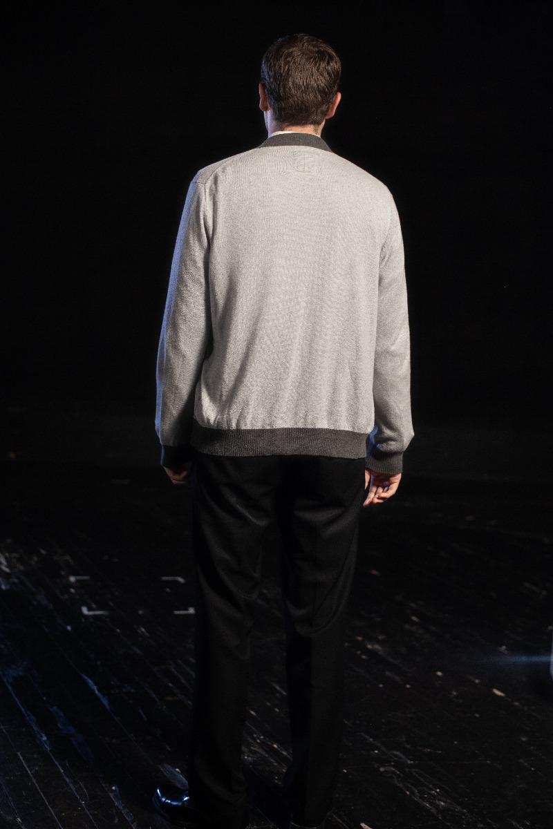 Bustle/Turn of the Century – Men's Full Outfit,  Lettermen Jacket
