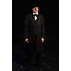 Bustle/Turn of the Century – Men's Full Outfit,  Mourning Outfit 2