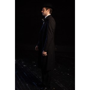 Bustle/Turn of the Century – Men's Full Outfit,  Mourning Outfit