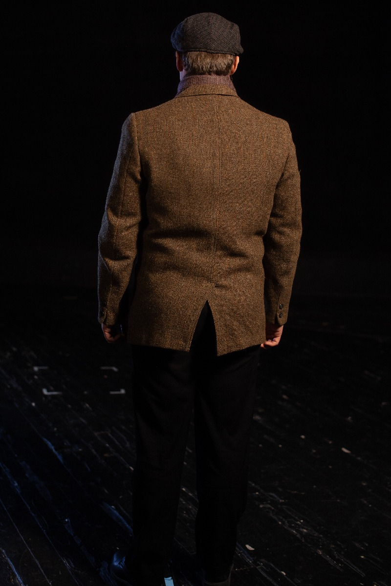 Bustle/Turn of the Century – Men's Full Outfit,  Winter Outfit,  Tan
