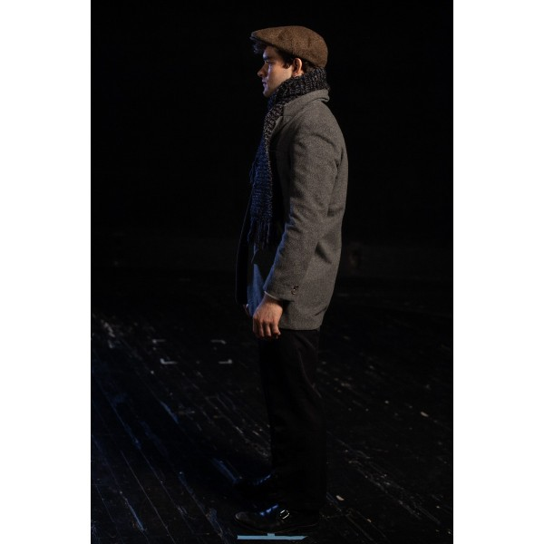 Bustle/Turn of the Century – Men's Full Outfit,  Winter Outfit,  Dk Grey