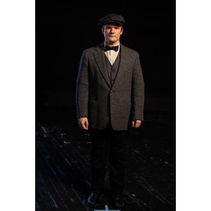 Bustle/Turn of the Century – Men's Full Outfit,  Dk Grey 2