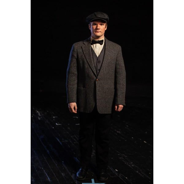 Bustle/Turn of the Century – Men's Full Outfit,  Dk Grey
