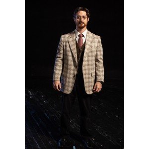 Bustle/Turn of the Century – Men's Full Outfit,  Plaid 2