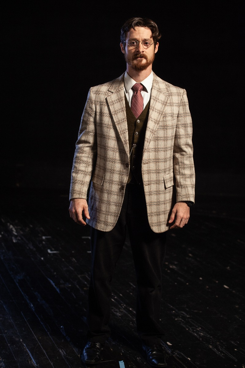 Bustle/Turn of the Century – Men's Full Outfit,  Plaid