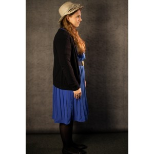 1940's – Women's Full Outfit,  Blue