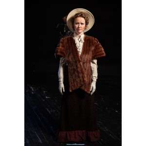 Bustle/Turn of the Century – Women's Full Outfit,  Brown Fur 2