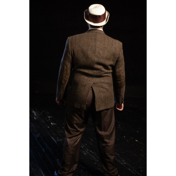 Bustle/Turn of the Century – Men's Full Outfit,  Brown Suit