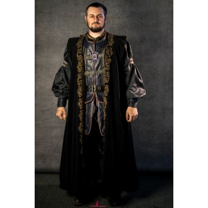 Narnia PC Men's Full Outfit, Miraz Court 2