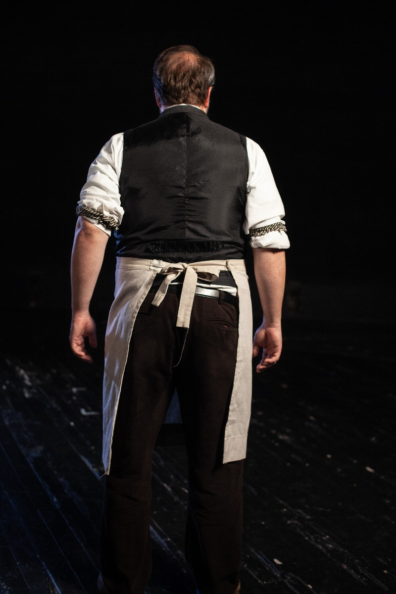 Bustle/Turn of the Century – Men's Full Outfit,  Shopkeeper