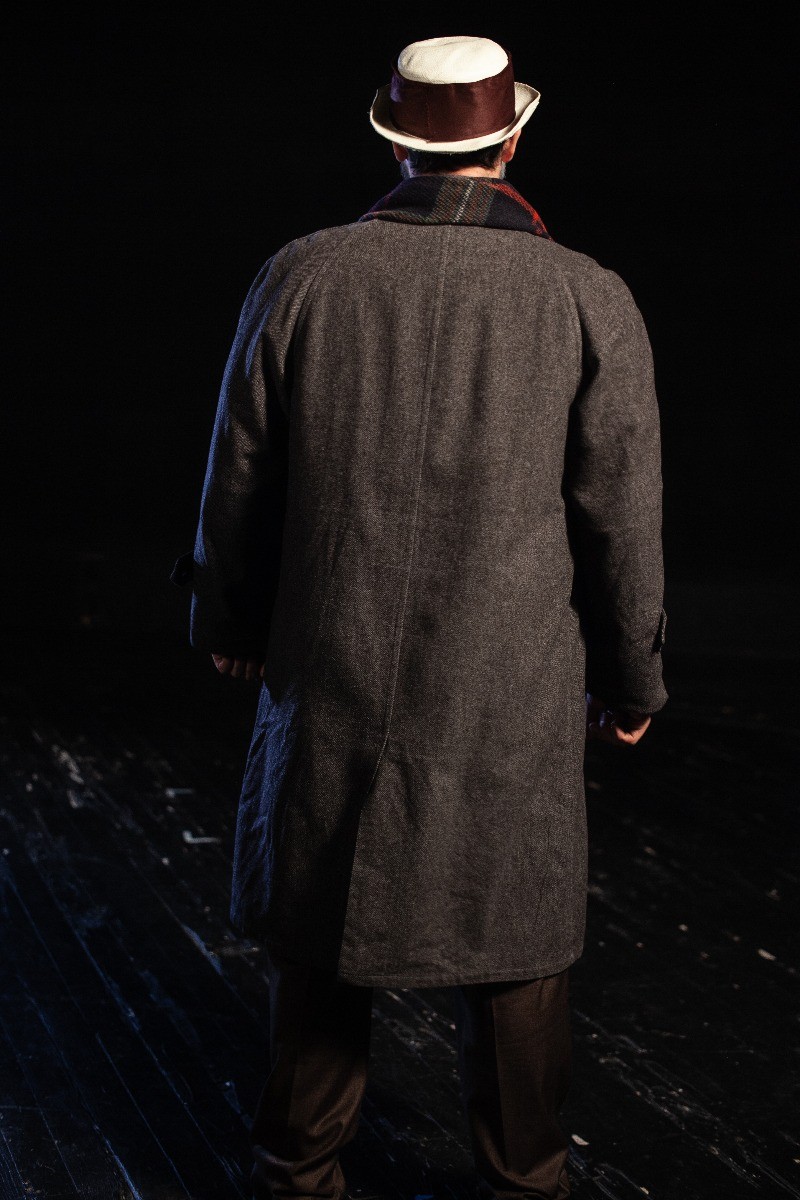 Bustle/Turn of the Century – Men's Full Outfit,  Winter Grey