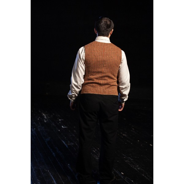 Bustle/Turn of the Century – Men's Full Outfit,  Red Checked