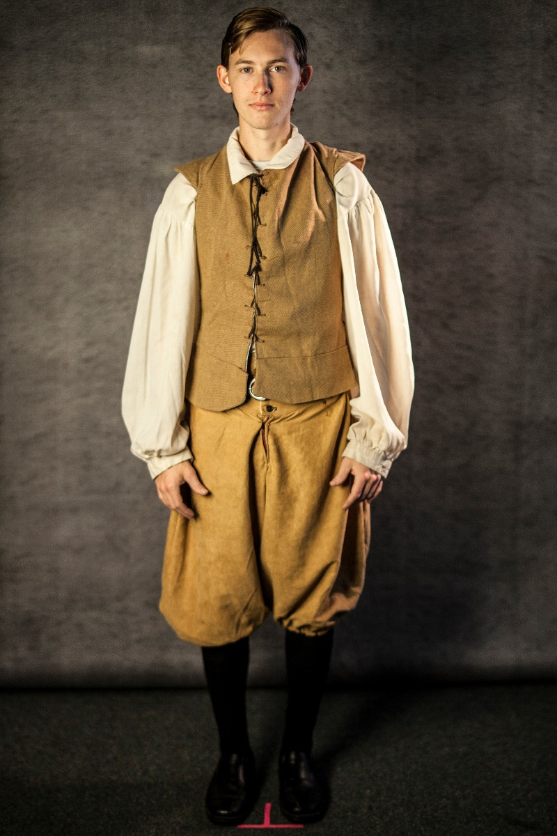 Narnia PC Men's Full Outfit, Telmarine Man 6