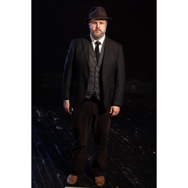 Bustle/Turn of the Century – Men's Full Outfit,  Mourning Suit 3,  Black