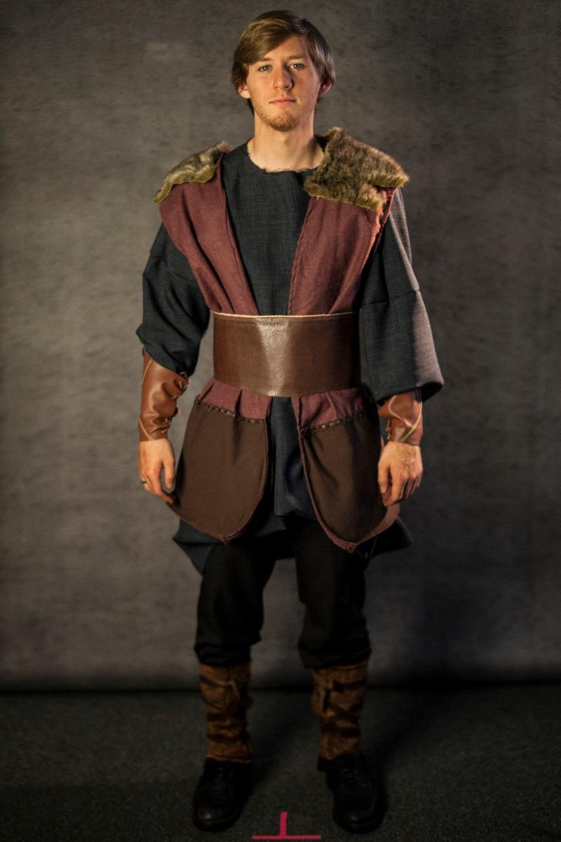 Narnia PC Men's Full Outfit, Viking Man 4