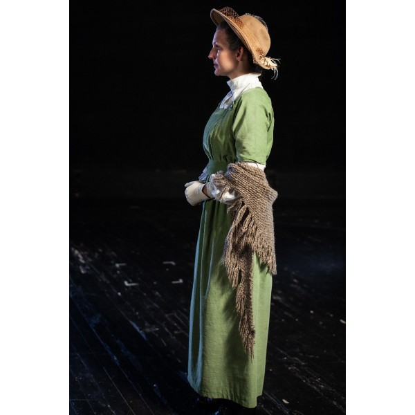 Bustle/Turn of the Century – Women's Full Outfit,  Lt Green