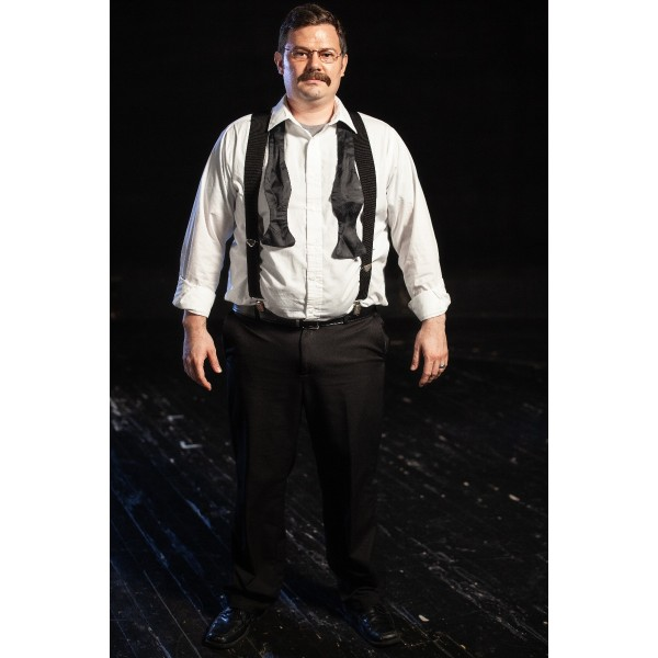 Bustle/Turn of the Century – Men's Full Outfit,  Grey Vest