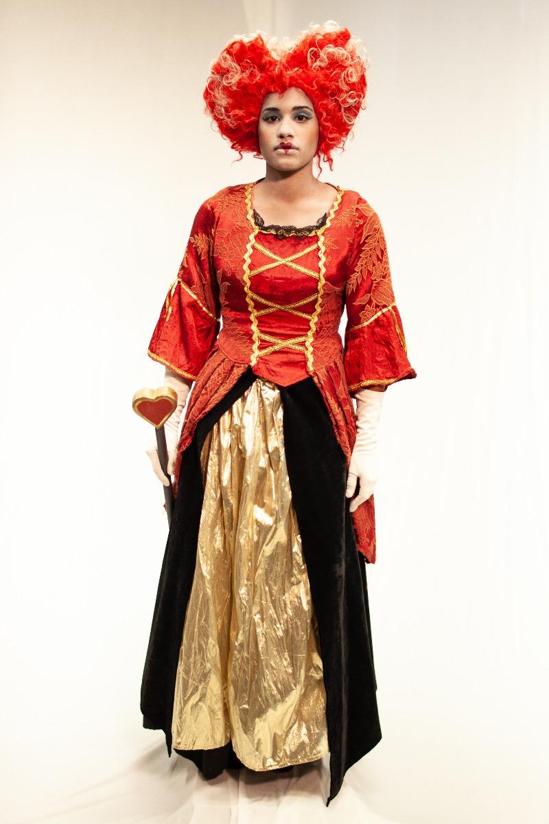 Queen of Hearts Costume 1
