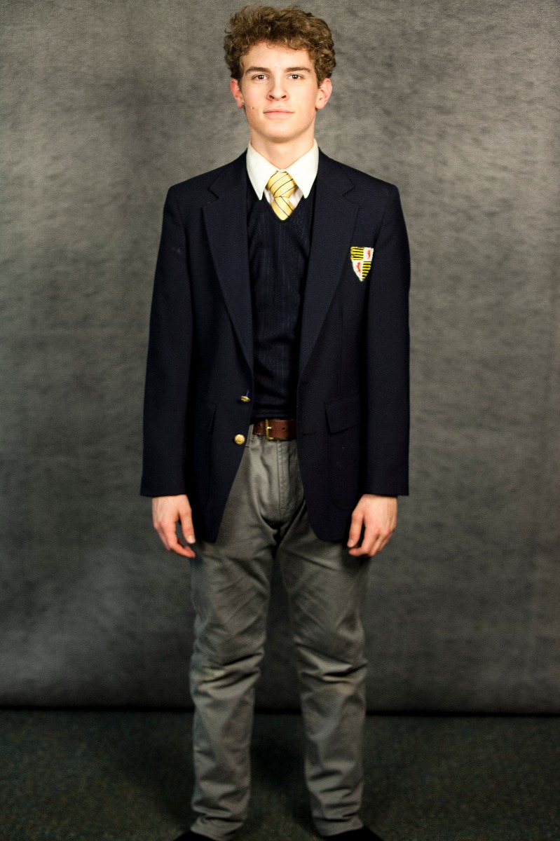 Narnia PC 1940's – School Uniform 3, Edmund Pevensie