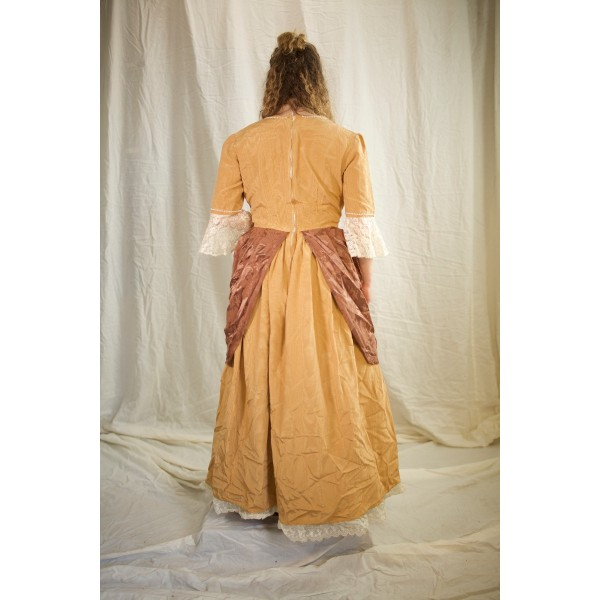 Colonial – Women's Full Outfit,  Yellow