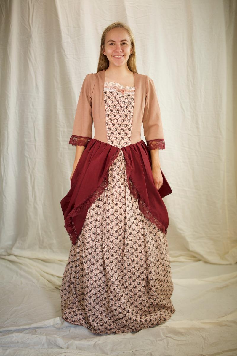 Colonial (Rev. War & F. Rev.) – Women's Outfit Full