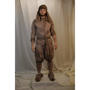 Ancient Persian – Men's Full Outfit,  Brown