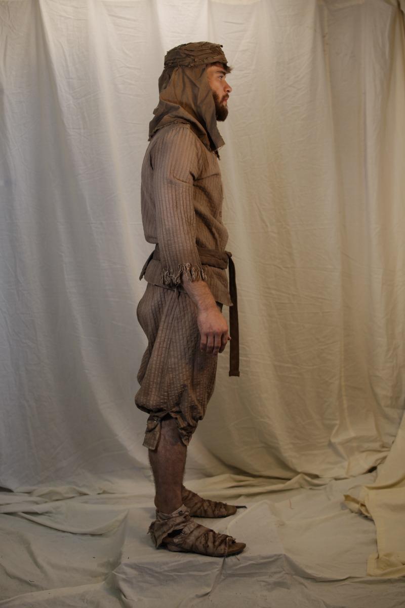 Ancient Persian – Men's Full Outfit,  Brown