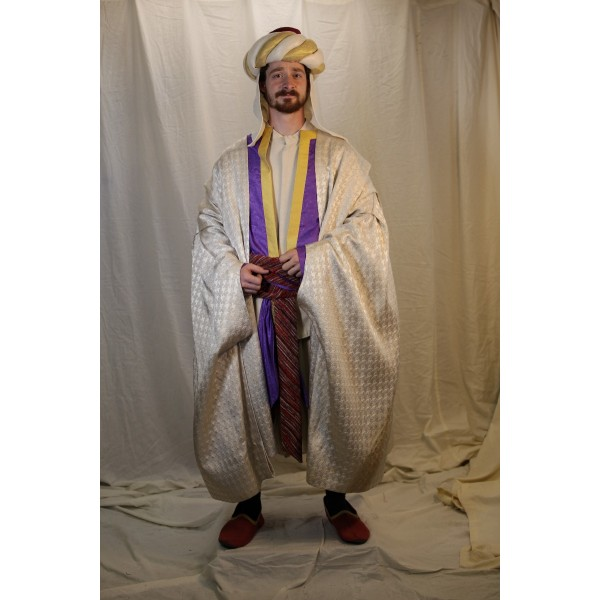 Ancient Persian – Men's Royalty Full Outfit,  white